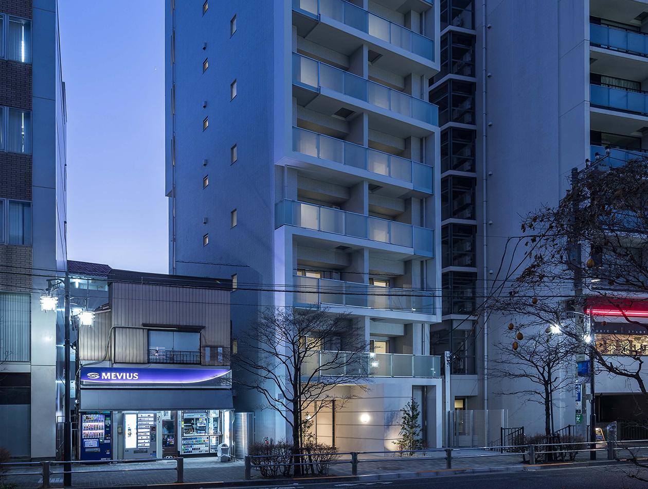 夜には全室から東京副都心を代表するドラマティックな夜景を一望することができます