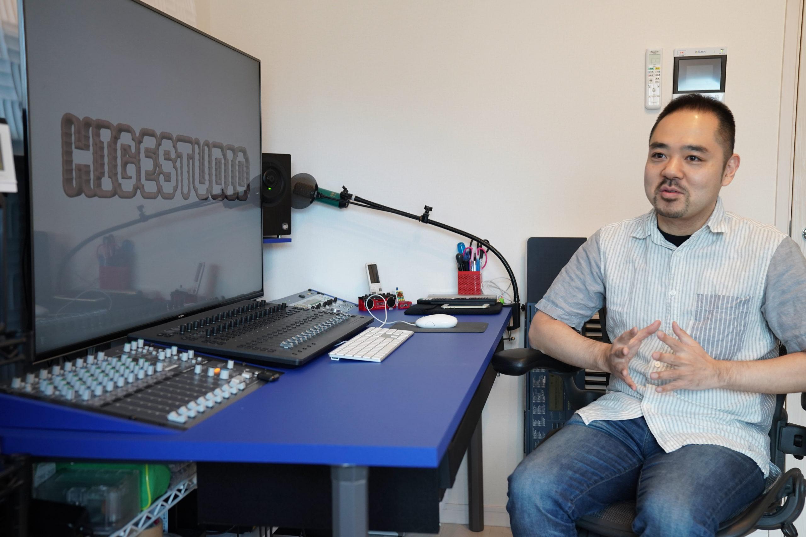 作曲家 内田智之さん「サウンドプルーフは音が漏れないし周囲の雑音も聞こえないから音楽制作に集中できる」