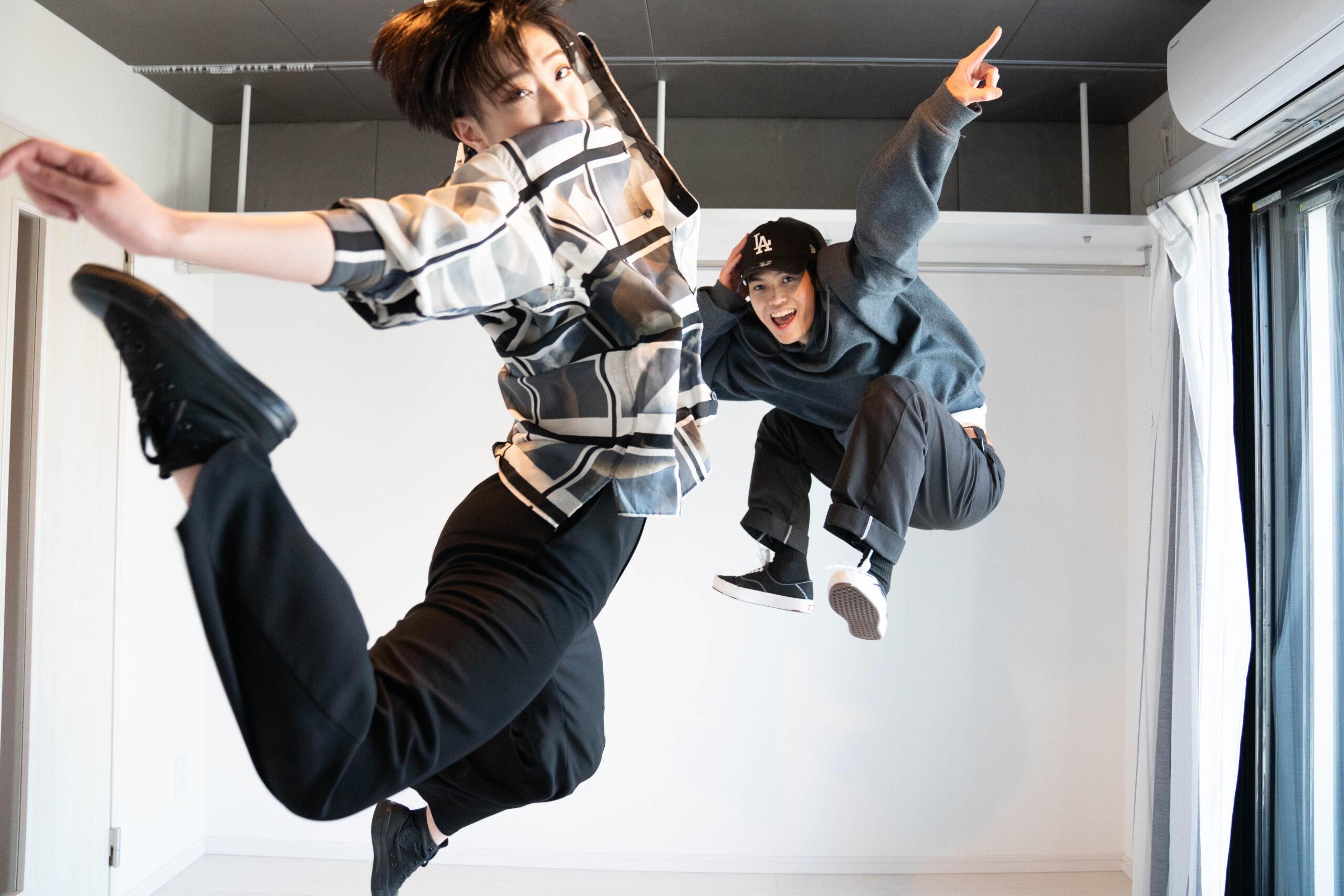 ダンサーYuna. & MITSUYOSHI「爆音のミュージックを流しながら思いっきりいつでも踊れるサウンドプルーフプロ自由が丘は最高」
